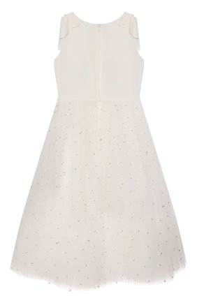 Детское платье CHARABIA белого цвета, арт. S12128 | Фото 2