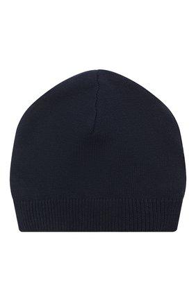 Детского хлопковая шапка LES LUTINS PARIS темно-синего цвета, арт. 21E059/0SCAR | Фото 1