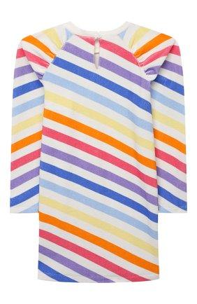Детское хлопковое платье DOUUOD разноцветного цвета, арт. 21E/U/JR/FA02/3510/10A-14A | Фото 2