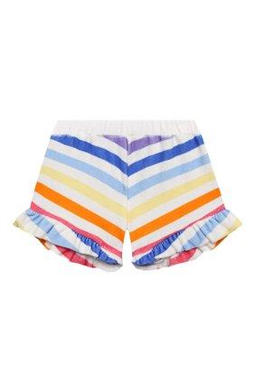 Детские хлопковые шорты DOUUOD разноцветного цвета, арт. 21E/U/JR/FC20/3510/10A-14A | Фото 1