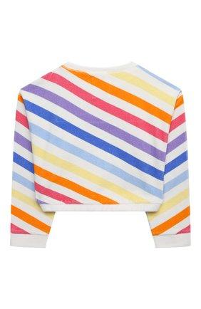 Детский хлопковый свитшот DOUUOD разноцветного цвета, арт. 21E/U/JR/FE12/3510/10A-14A | Фото 2