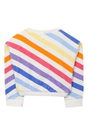 Детский хлопковый свитшот DOUUOD разноцветного цвета, арт. 21E/U/JR/FE12/3510/3A-8A | Фото 2