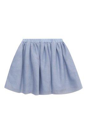 Детская юбка DOUUOD голубого цвета, арт. 21E/U/JR/G006/3710/10A-14A | Фото 1