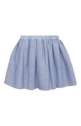 Детская юбка DOUUOD голубого цвета, арт. 21E/U/JR/G006/3710/10A-14A | Фото 2