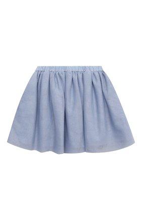 Детская юбка DOUUOD голубого цвета, арт. 21E/U/JR/G006/3710/3A-8A | Фото 1