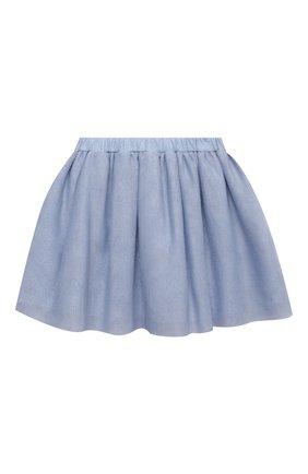 Детская юбка DOUUOD голубого цвета, арт. 21E/U/JR/G006/3710/3A-8A | Фото 2