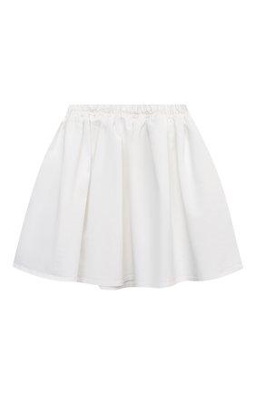 Детская юбка DOUUOD белого цвета, арт. 21E/U/JR/G007/1110/10A-14A | Фото 1