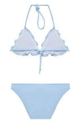 Детского раздельный купальник CHIARA FERRAGNI голубого цвета, арт. 20PE-CFKBK002   Фото 2