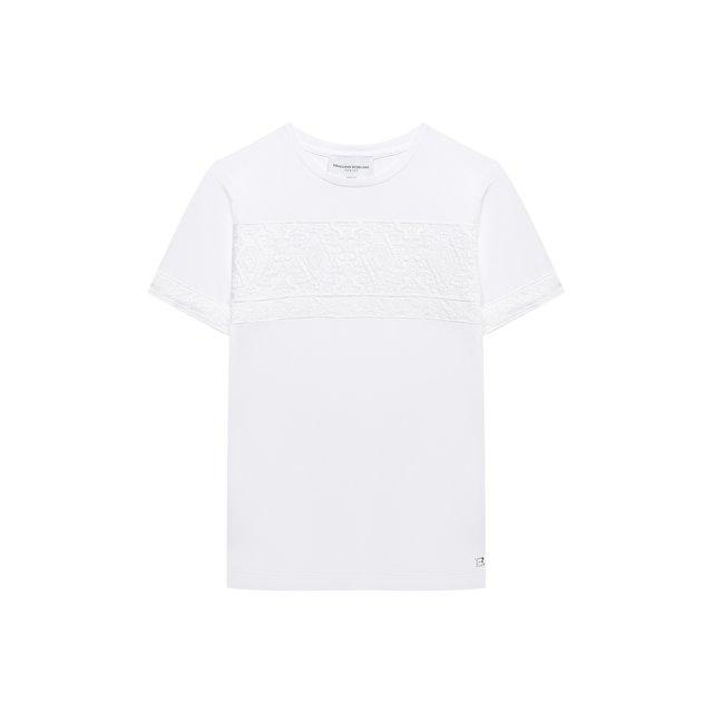 Хлопковая футболка Ermanno Scervino