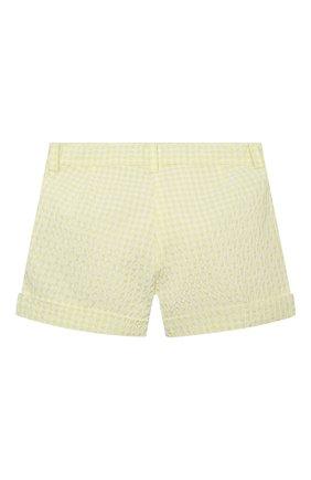 Детские шорты IL GUFO желтого цвета, арт. P21PS008C3125/2A-4A | Фото 2