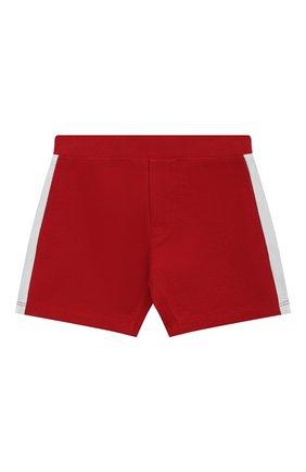 Детский комплект из поло и шорт MONCLER красного цвета, арт. G1-951-8M760-20-8496F | Фото 4