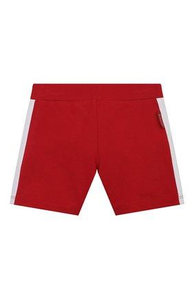 Детский комплект из поло и шорт MONCLER красного цвета, арт. G1-951-8M760-20-8496F | Фото 5