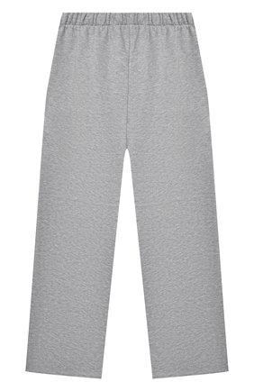 Детские хлопковые брюки NATASHA ZINKO серого цвета, арт. SS21MNZ502-05/10-14 | Фото 2