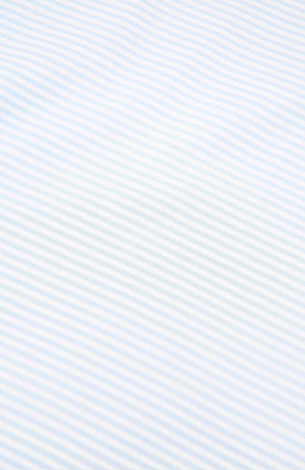 Детского комплект из пяти предметов KISSY KISSY голубого цвета, арт. 44192   Фото 2 (Материал внешний: Хлопок; Ростовка одежда: 0 - 3 мес   50 - 60 см, 6 мес   68 см)