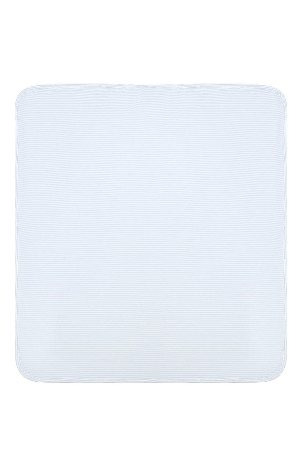 Детского комплект из пяти предметов KISSY KISSY голубого цвета, арт. 44192   Фото 8 (Материал внешний: Хлопок; Ростовка одежда: 0 - 3 мес   50 - 60 см, 6 мес   68 см)