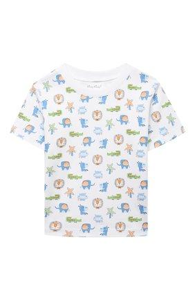 Детский хлопковая пижама KISSY KISSY разноцветного цвета, арт. KB605464I | Фото 2