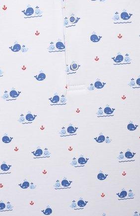 Детское хлопковый комбинезон KISSY KISSY синего цвета, арт. KBR05736I   Фото 3