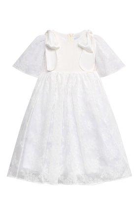 Детское платье PAADE MODE белого цвета, арт. 21210751/4Y-8Y | Фото 1