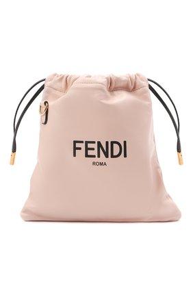 Женская сумка FENDI светло-розового цвета, арт. 8BT337 ADM9 | Фото 1