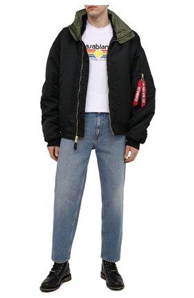 Мужские кожаные ботинки HARLEY-DAVIDSON черного цвета, арт. D93665 | Фото 2