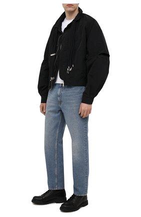 Мужские кожаные ботинки HARLEY-DAVIDSON черного цвета, арт. D93698 | Фото 2