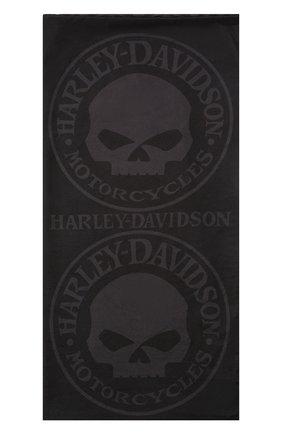 Мужской бандана-труба HARLEY-DAVIDSON черного цвета, арт. MHW119954 | Фото 3 (Материал: Текстиль, Хлопок; Кросс-КТ: другое)