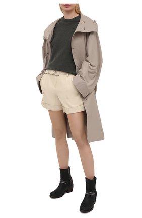 Женские кожаные сапоги HARLEY-DAVIDSON черного цвета, арт. D84670 | Фото 2