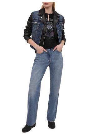 Женская футболка HARLEY-DAVIDSON черного цвета, арт. R003813 | Фото 2