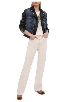 Женская хлопковая футболка HARLEY-DAVIDSON белого цвета, арт. R003814 | Фото 2