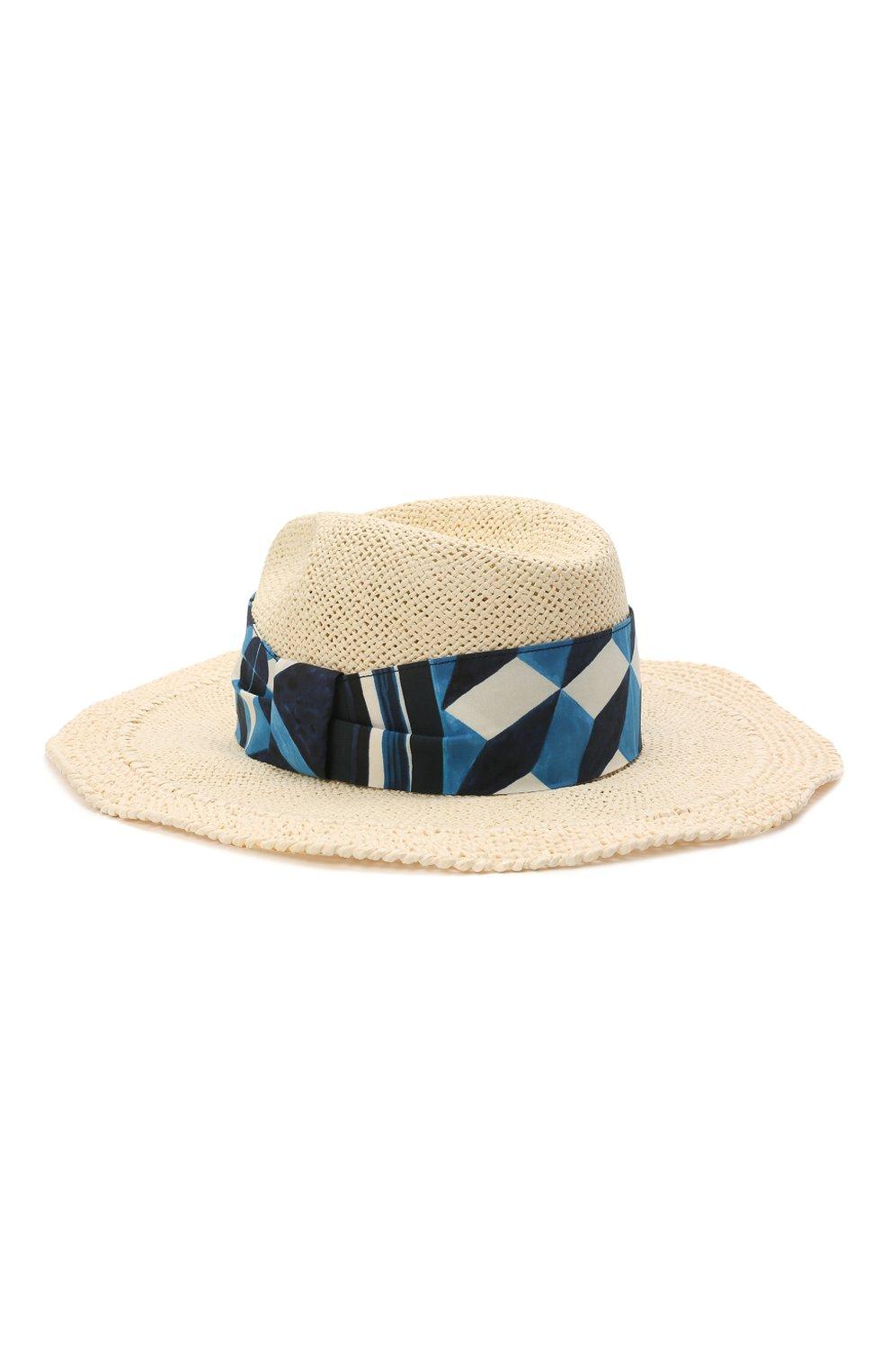 Мужская шляпа DOLCE & GABBANA бежевого цвета, арт. GH694Z/G3UAP | Фото 1