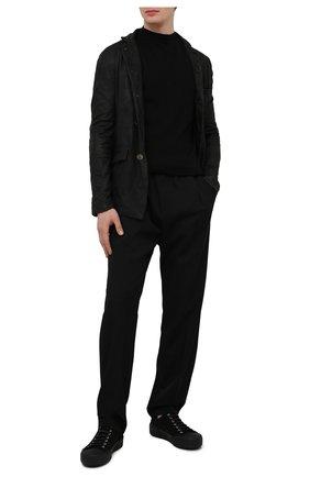 Мужская кожаная куртка GIORGIO BRATO черного цвета, арт. GU21S9616VBRUSH | Фото 2