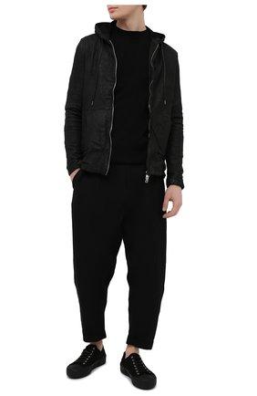 Мужская кожаная куртка GIORGIO BRATO черного цвета, арт. GU21S8212VBRUSH | Фото 2