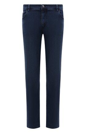 Мужские джинсы ZILLI синего цвета, арт. MCV-00090-DESA1/R001 | Фото 1