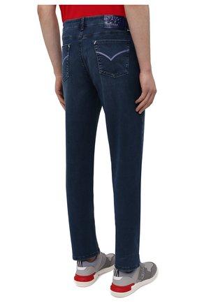 Мужские джинсы ZILLI синего цвета, арт. MCV-00090-DESA1/R001   Фото 4