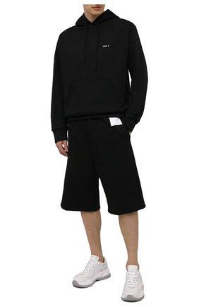 Мужские хлопковые шорты OAMC черного цвета, арт. 0AMS705268 0S243708E | Фото 2