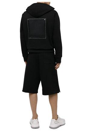 Мужской хлопковое худи OAMC черного цвета, арт. 0AMS704586 0S243708D | Фото 2
