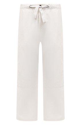 Мужские хлопковые брюки OAMC белого цвета, арт. 0AMS310833 0S240700 | Фото 1 (Случай: Повседневный; Материал внешний: Хлопок; Стили: Минимализм; Материал подклада: Хлопок; Длина (брюки, джинсы): Стандартные)