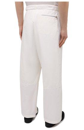 Мужские хлопковые брюки OAMC белого цвета, арт. 0AMS310833 0S240700   Фото 4 (Длина (брюки, джинсы): Стандартные; Случай: Повседневный; Материал внешний: Хлопок; Стили: Минимализм; Материал подклада: Хлопок)