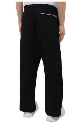 Мужские хлопковые брюки OAMC черного цвета, арт. 0AMS310833 0S240700   Фото 4 (Длина (брюки, джинсы): Стандартные; Случай: Повседневный; Материал внешний: Хлопок; Стили: Минимализм; Материал подклада: Хлопок)
