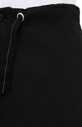 Мужские хлопковые брюки OAMC черного цвета, арт. 0AMS310833 0S240700   Фото 5 (Длина (брюки, джинсы): Стандартные; Случай: Повседневный; Материал внешний: Хлопок; Стили: Минимализм; Материал подклада: Хлопок)