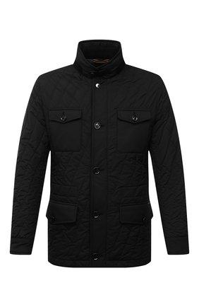 Мужская утепленная куртка laviani-trt MOORER черного цвета, арт. LAVIANI-TRT/M0UGI100075-TEPA032   Фото 1