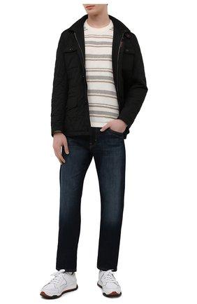 Мужская утепленная куртка laviani-trt MOORER черного цвета, арт. LAVIANI-TRT/M0UGI100075-TEPA032   Фото 2