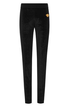 Мужские брюки VERSACE черного цвета, арт. A89409/A234467 | Фото 1
