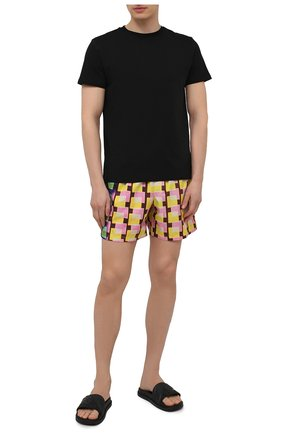 Мужские плавки-шорты DRIES VAN NOTEN разноцветного цвета, арт. 211-20938-2241 | Фото 2