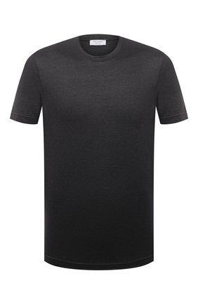 Мужская хлопковая футболка GRAN SASSO темно-серого цвета, арт. 60133/74001 | Фото 1