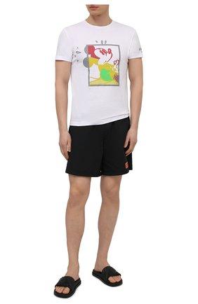 Мужские плавки-шорты HERON PRESTON черного цвета, арт. HMFA005S21FAB0011000 | Фото 2
