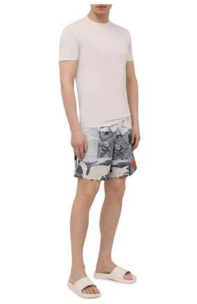 Мужские плавки-шорты HERON PRESTON серого цвета, арт. HMFA005S21FAB0020900 | Фото 2