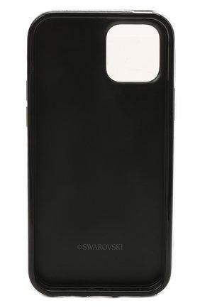 Чехол для iphone 12/12 pro SWAROVSKI черного цвета, арт. 5565185 | Фото 2