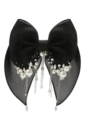 Женская бант PANFIL черного цвета, арт. 0-X3-Prl | Фото 1