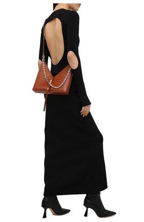 Женские кожаные ботильоны carene GIVENCHY черного цвета, арт. BE602ME0XP | Фото 2